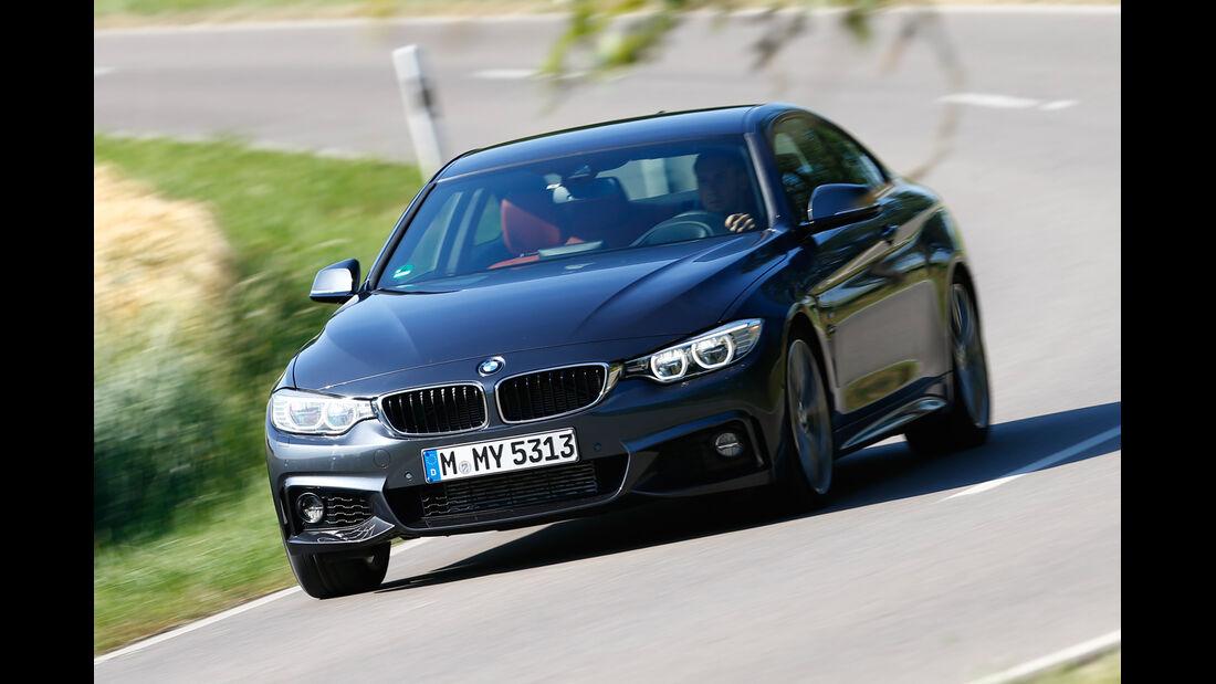 BMW 435i, Frontansicht