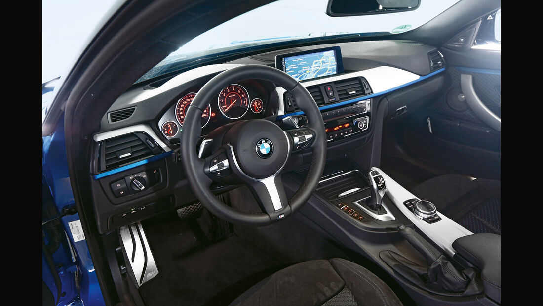 BMW 435i Gran Coupé, Cockpit