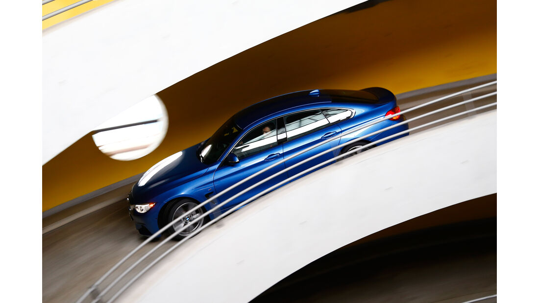 BMW 435i Gran Coupé, Seitenansicht