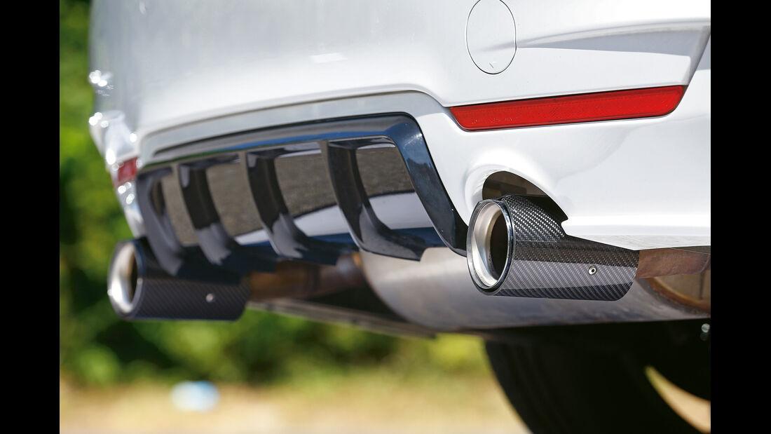 BMW 435i M Performance, Endrohre, Auspuff