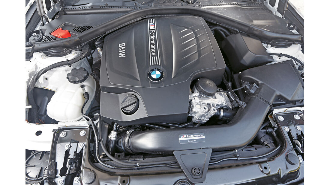 BMW 435i M Performance, Motor