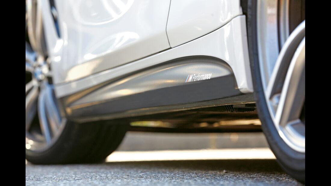 BMW 435i M Performance, Seitenführung
