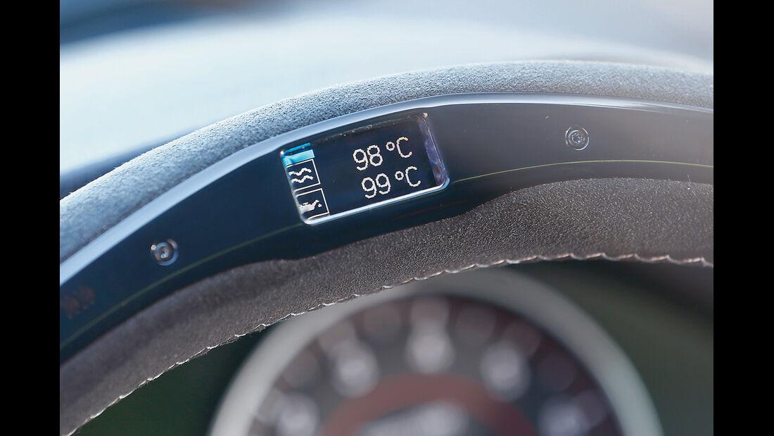 BMW 435i M Performance, Zusatanzeige, Temperatur
