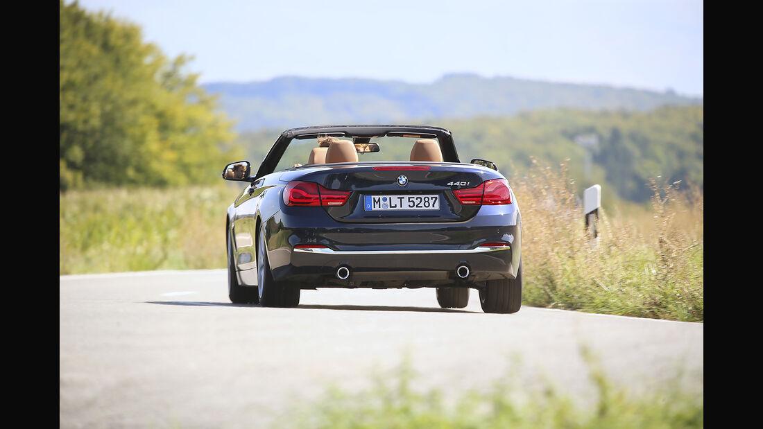 BMW, 440i Cabrio, Exterieur, Heck