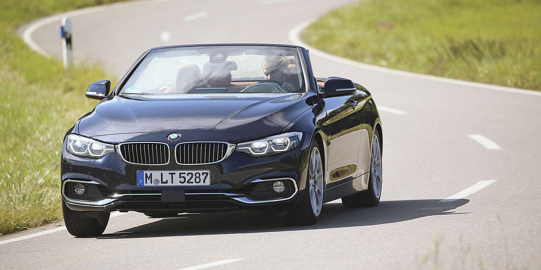BMW, 440i Cabrio, Interieur, Front