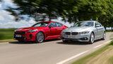BMW 440i Gran Coupé Luxury Line, Kia Stinger 3.3 T-GDI V6 GT, Exterieur
