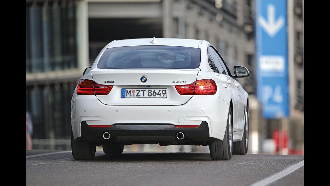 BMW 440i Gran Coupé xDrive M Sport, Heckansicht