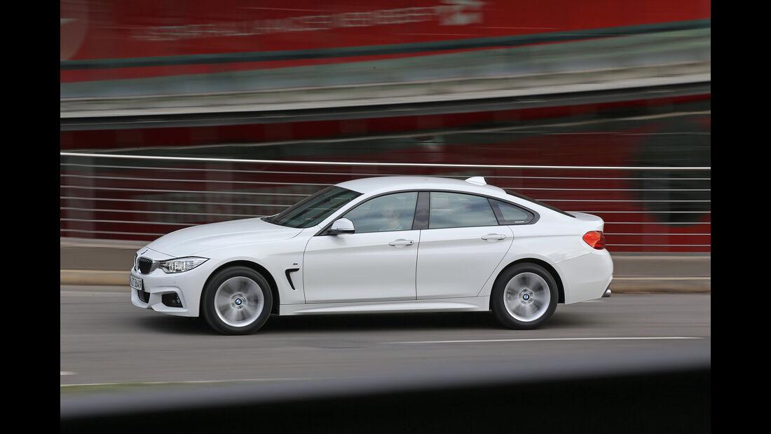 BMW 440i Gran Coupé xDrive M Sport, Seitenansicht