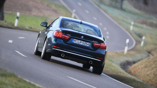 BMW 440i xDrive, Heckansicht