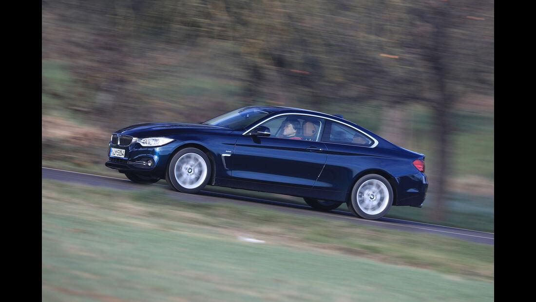 BMW 440i xDrive, Seitenansicht