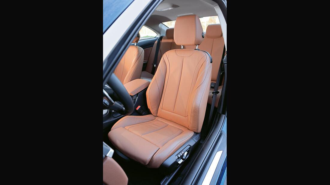 BMW 440i xDrive, Sitz