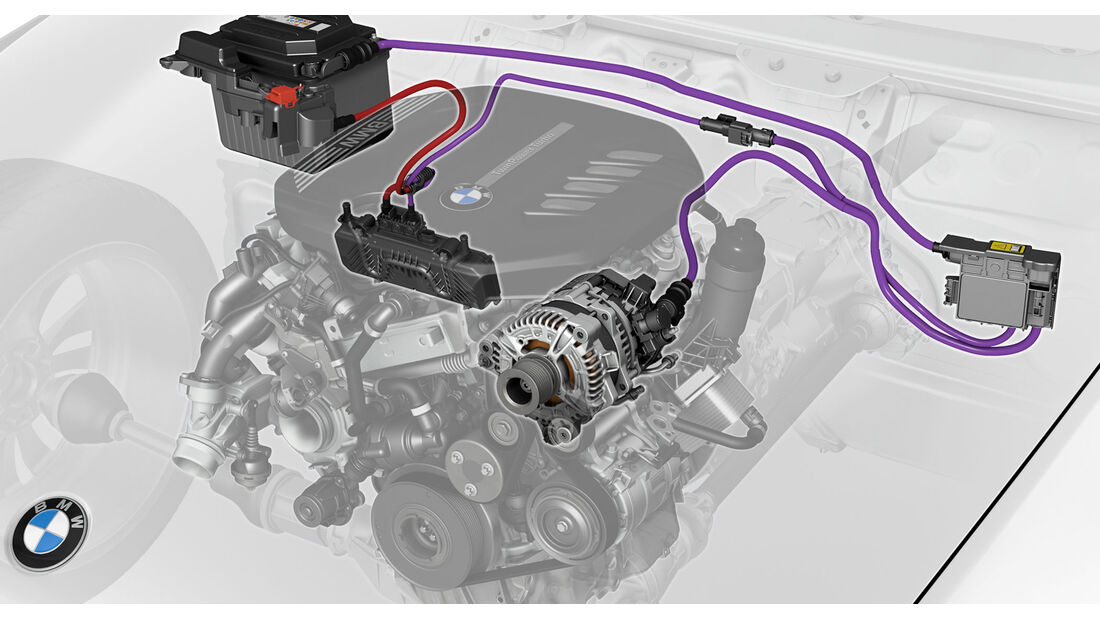 BMW 48 Volt Mild Hybrid Technologie