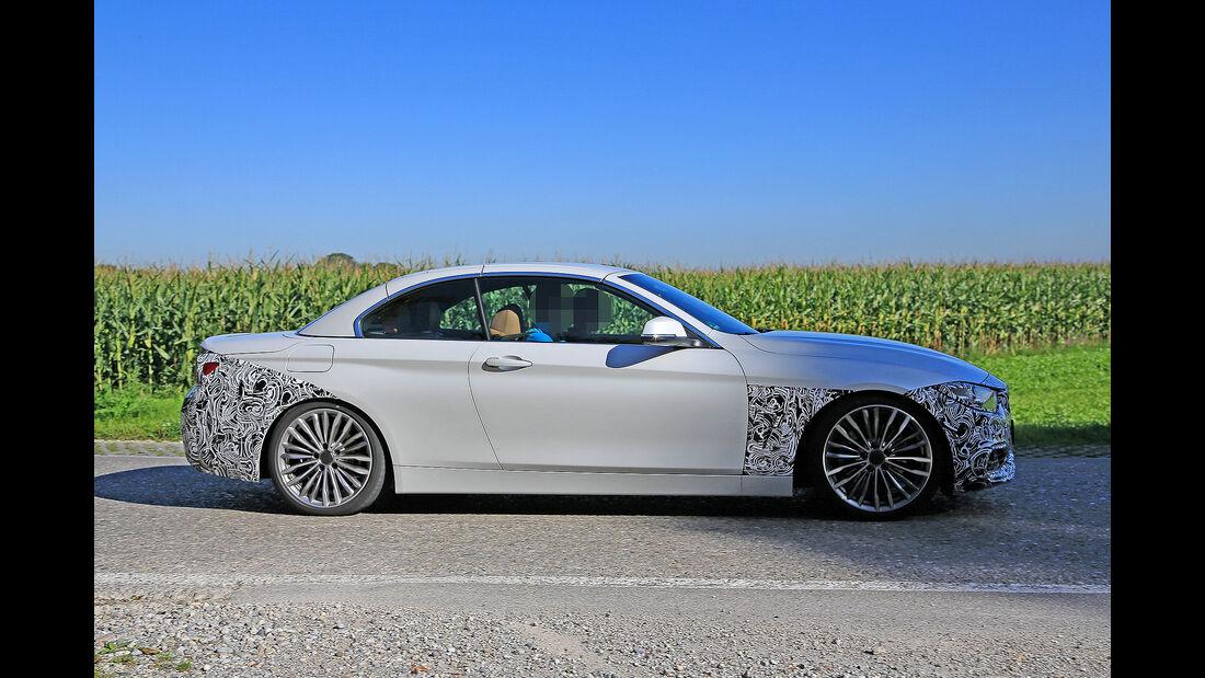 BMW 4er Cabrio Facelift Erlkönig