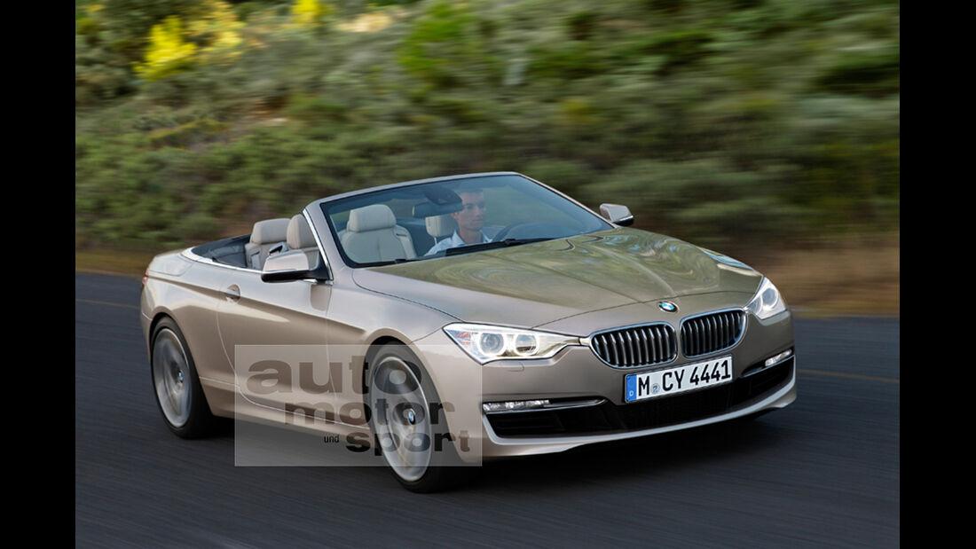 BMW 4er Cabrio Retusche