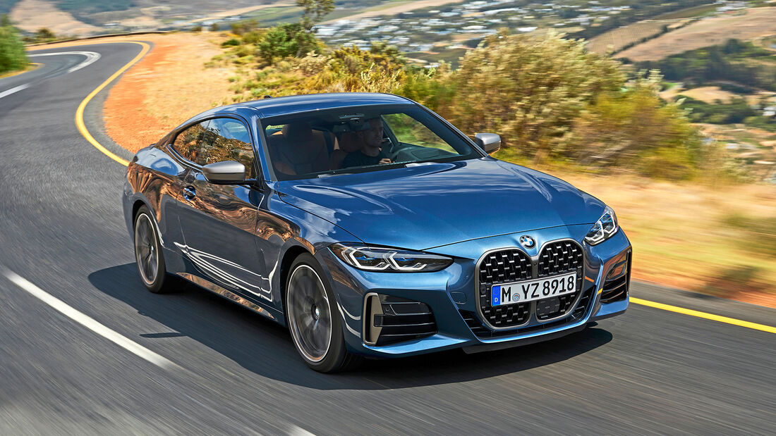 BMW 4er Coupé, Exterieur