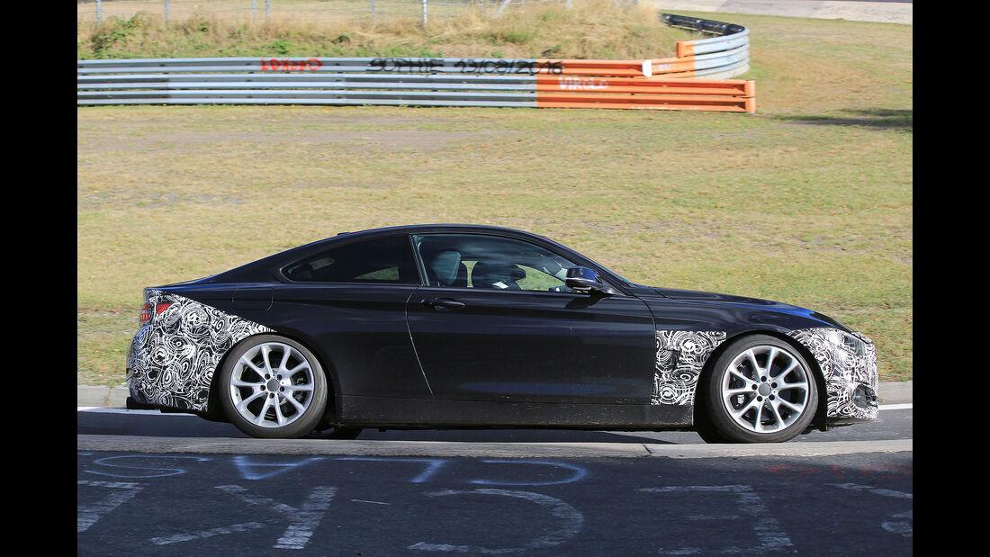 BMW 4er Coupé Facelift Erlkönig
