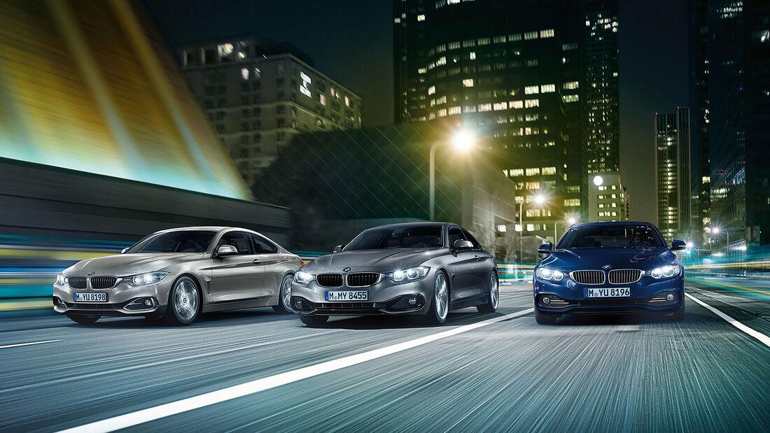 BMW 4er Coupé Gruppenbild