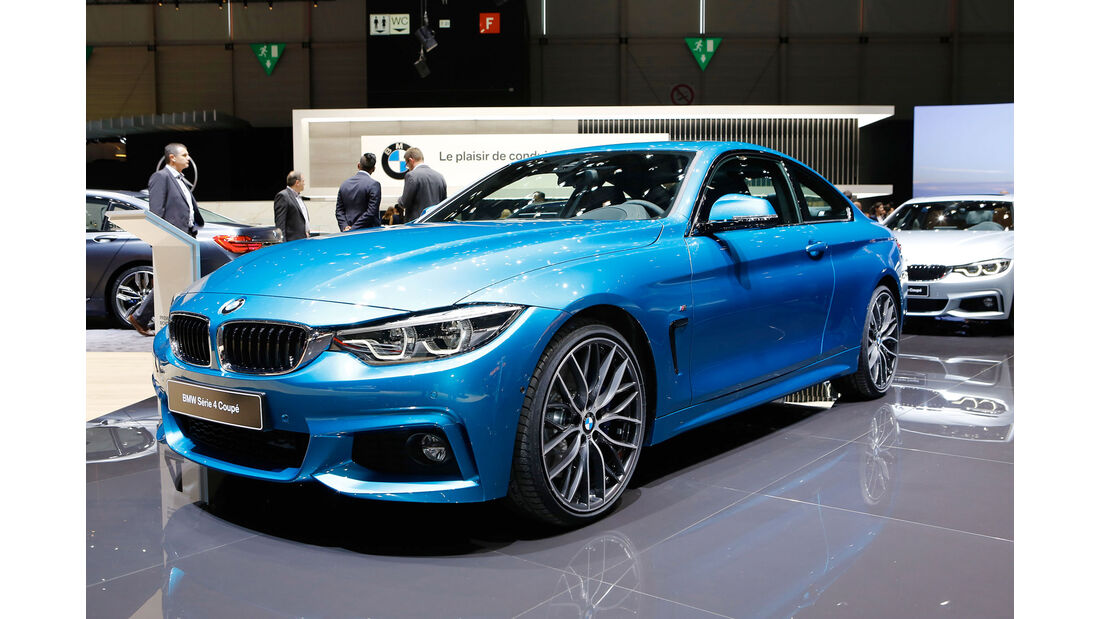 BMW 4er Coupe Genf 2017