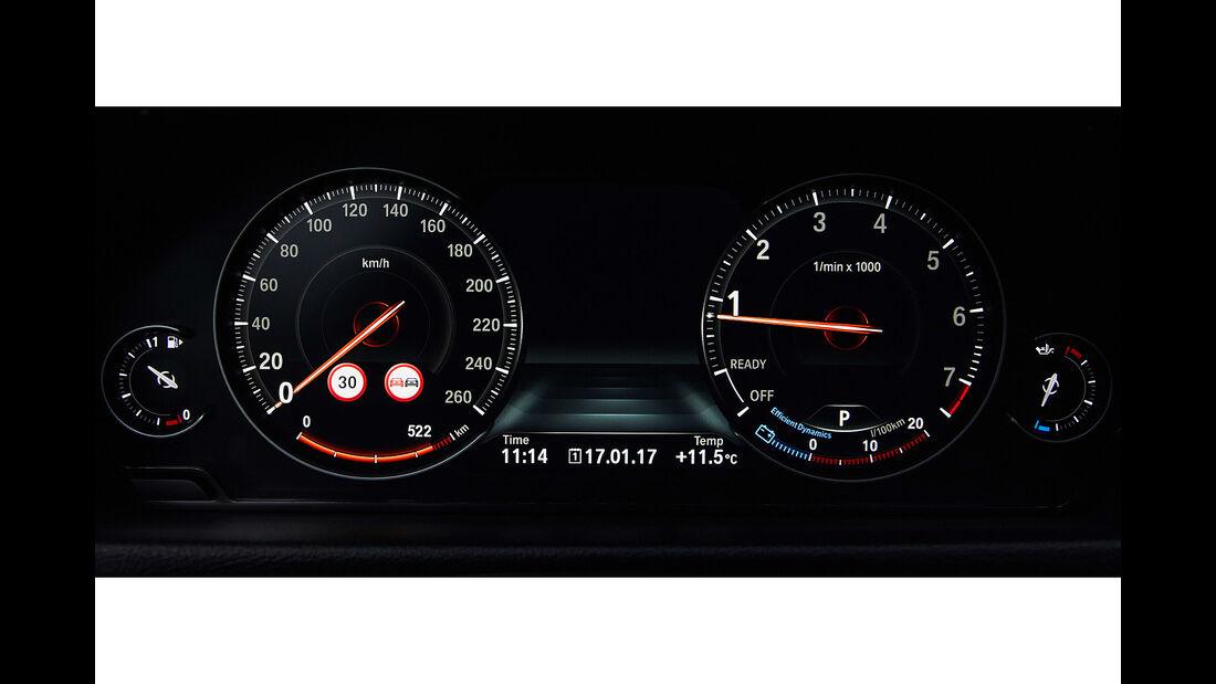 BMW 4er Facelift (2017) Instrumente