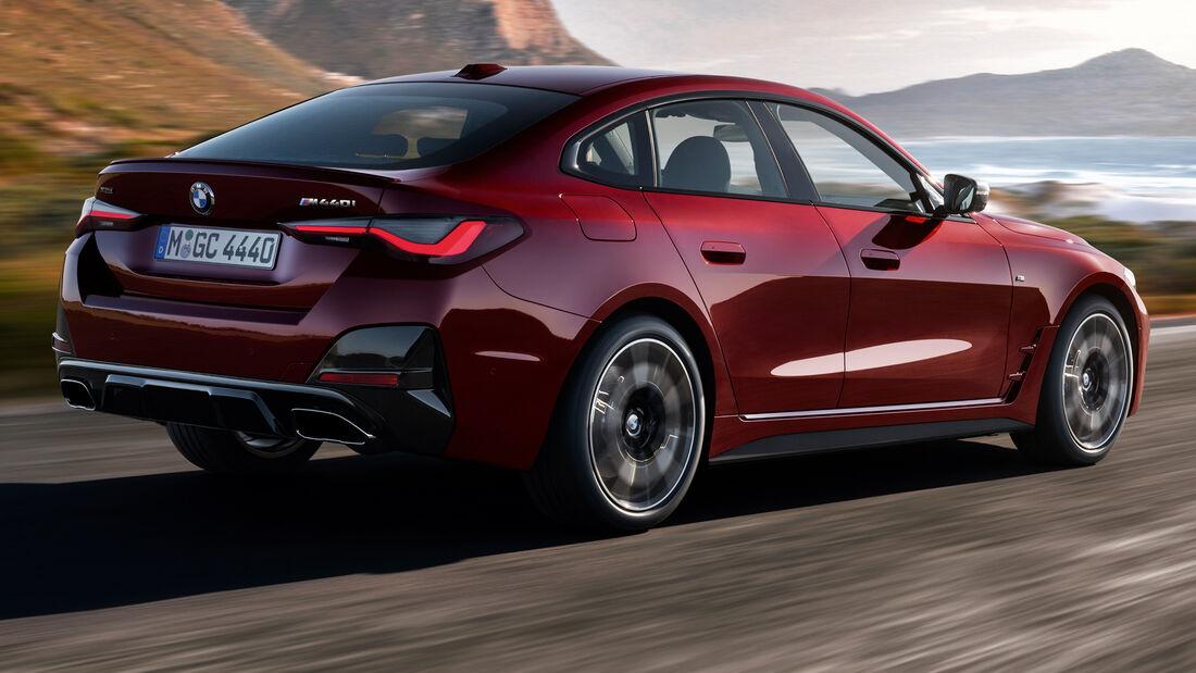 BMW 4er Gran Coupé 2021 G26 Zweite Generation SPERRFRIST 09.06.21 00.20 Uhr