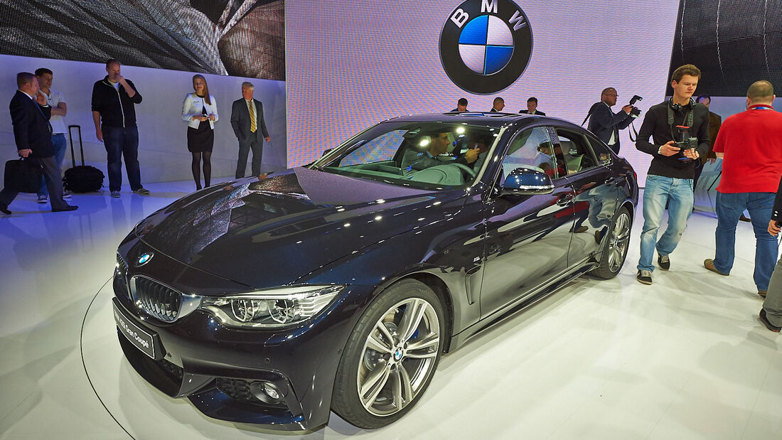 BMW 4er Gran Coupé 435i, Genfer Autosalon, Messe, 2014