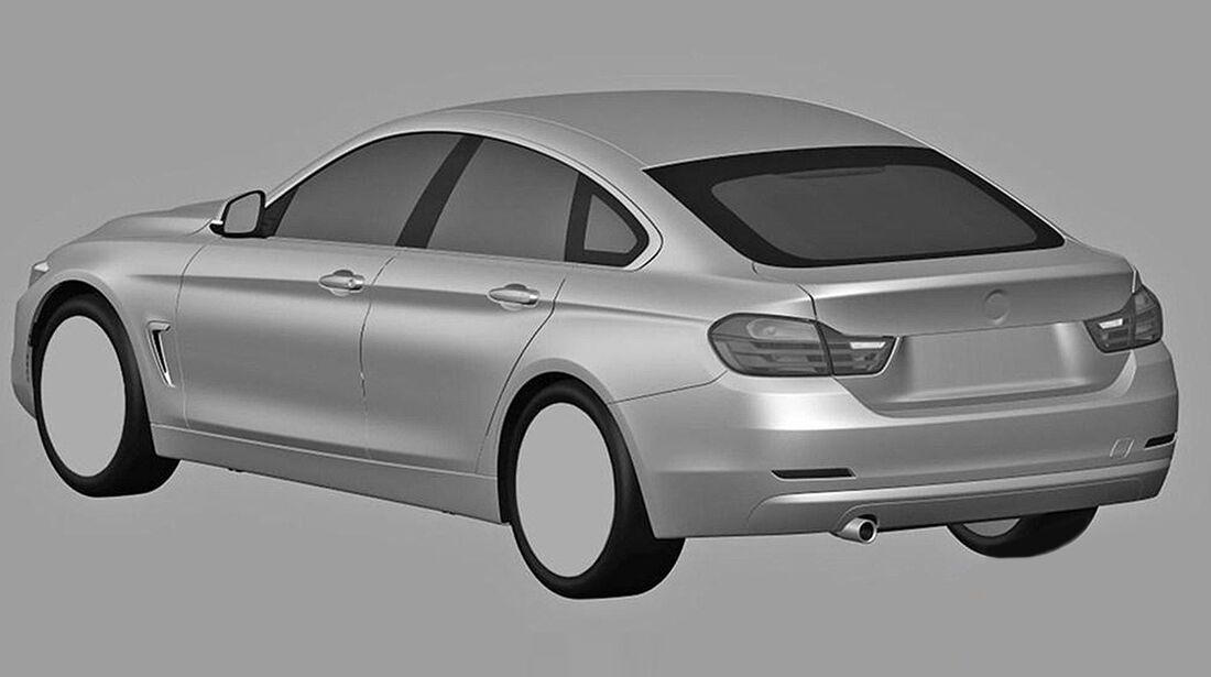 BMW 4er Gran Coupé Patentamt
