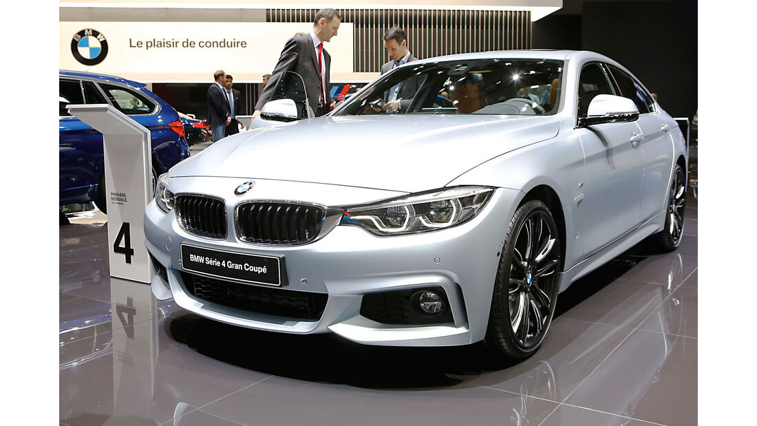 BMW 4er Gran Coupe Genf 2017