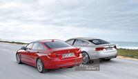 BMW 4er Grand Coupé, Audi A5 Sportback