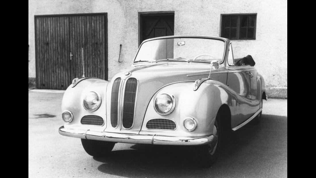 BMW 502 Baur Archiv Halwart Schrader