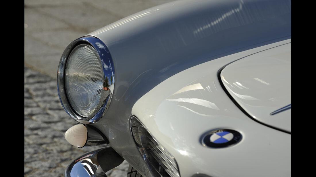 BMW 507, Motorhaube