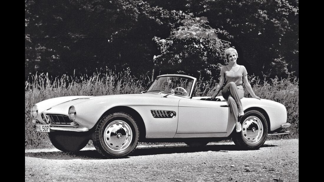 BMW 507, Seitenansicht