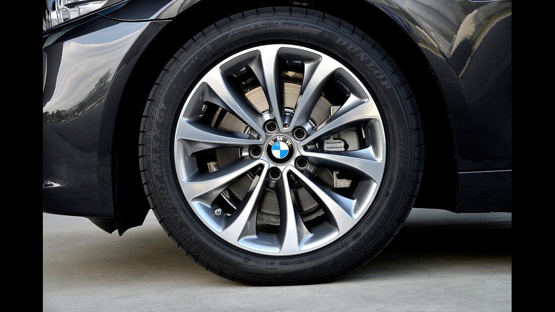 BMW 518d, Rad, Felge