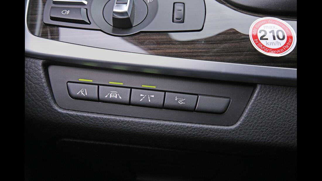 BMW 518d Touring, Bedienelemente