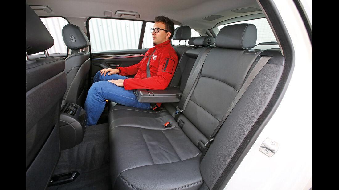 BMW 518d Touring, Fondsitze