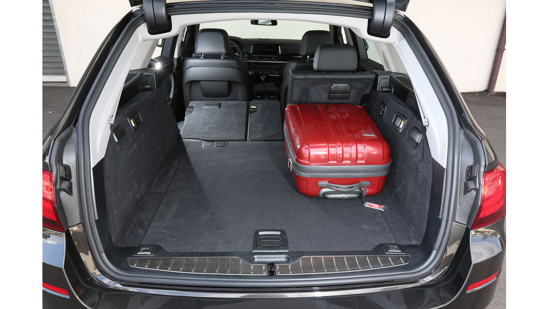 BMW 518d Touring, Kofferraum