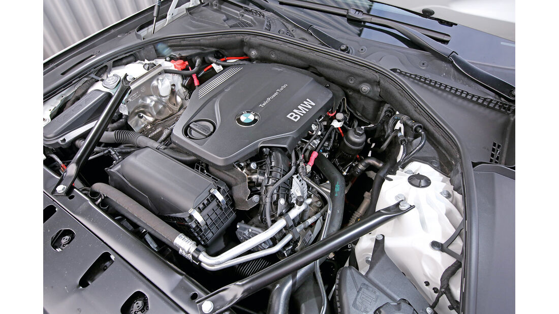BMW 518d Touring, Motor