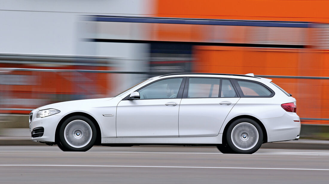 BMW 518d Touring, Seitenansicht