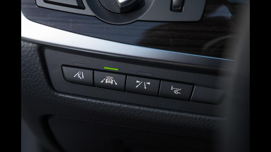 BMW 520d, Bedienelemente