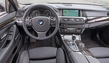 BMW 520d, Cockpit