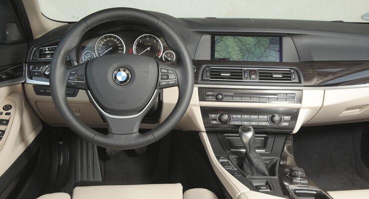 BMW 520d EDE, Innenraum, Cockpit