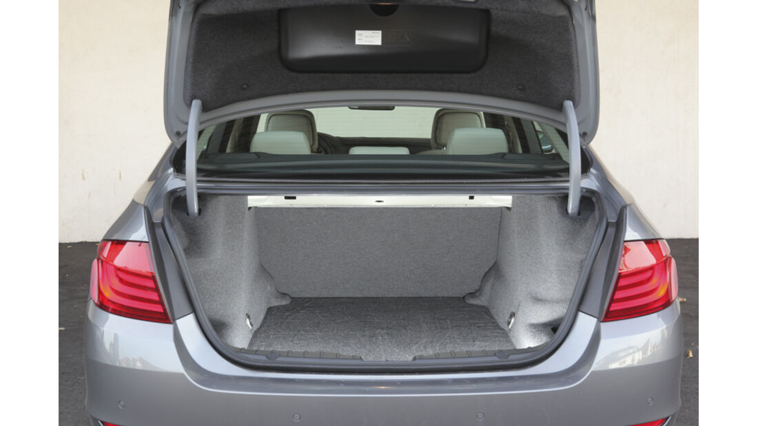 BMW 520d EDE, Kofferraum