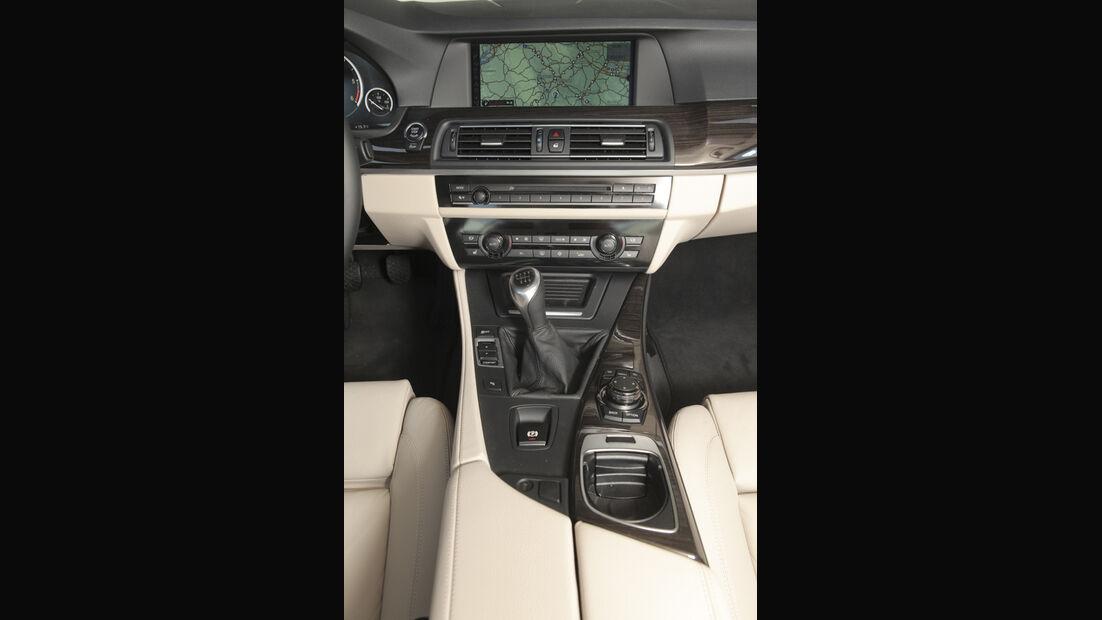 BMW 520d EDE, Mittelkonsole
