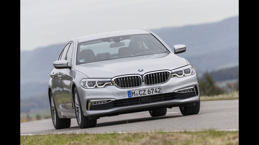 BMW 520d, Exterieur Front