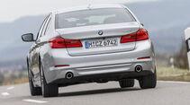 BMW 520d, Exterieur Heck