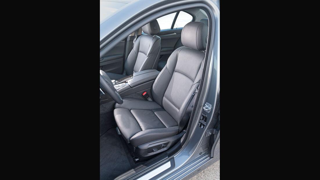 BMW 520d, Fahrersitz