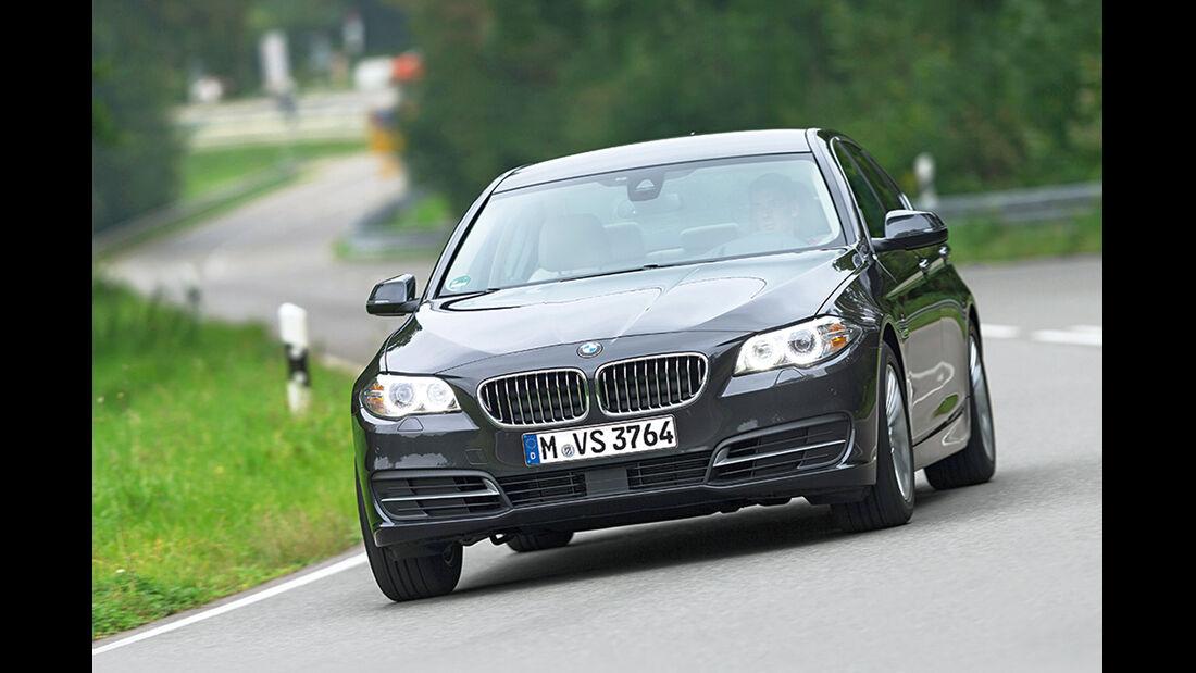 BMW 520d, Frontansicht
