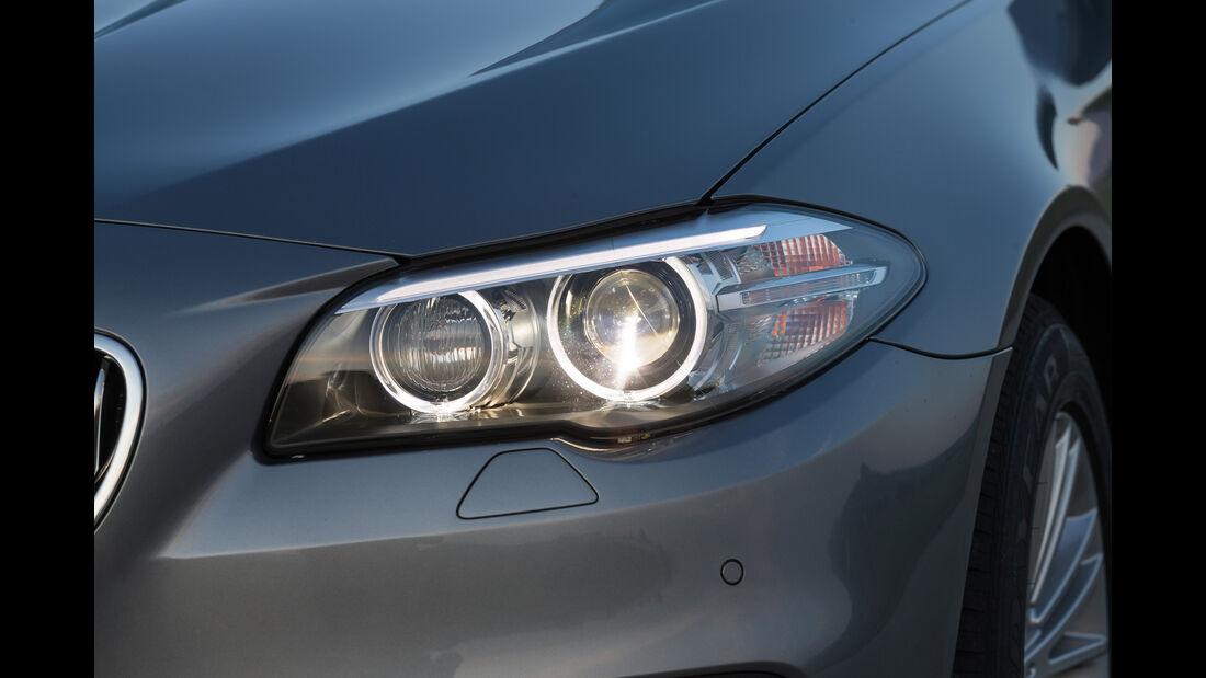 BMW 520d, Frontscheinwerfer