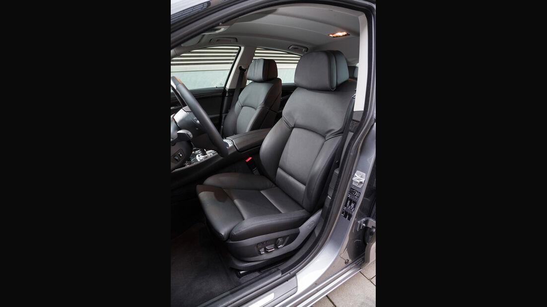 BMW 520d GT, Fahrersitz