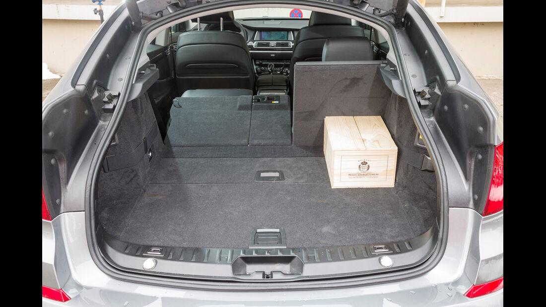 BMW 520d GT, Kofferraum, Ladefläche