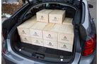BMW 520d GT, Kofferraum, Ladefläche, Kisten